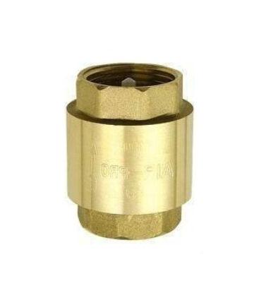 Válvula de retención de bronce