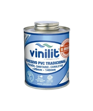 Adhesivo PVC Vinilit Tarro | 240CC | Secado Rápido