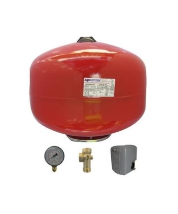 Kit Hidroneumático Aquasystem 24lt   FSG-2